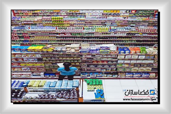 کاربردهای قفسه بندی فروشگاهی